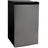 4.4 Cu.Ft. Counterhigh Refrigerator - Stainless Steel Door