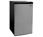 Kegco MDC445-1BS - 4.4 Cu.Ft. Counterhigh Refrigerator - Black Cabinet with Stainless Steel Door