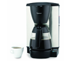 Capresso 484.05 MG600 PLUS 10-Cup Programmable Coffee Maker Glass Carafe