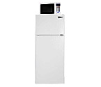 Summit MRF1116W Frost-Free Refrigerator-Freezer-Microwave Combo - White