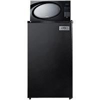 Refrigerator-Microwave Combo - Black