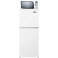 Summit MRF71 Frost Free Refrigerator-Freezer-Microwave Combo - White