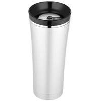 Sipp Vacuum Insulated Travel Mug - Stainless/Black