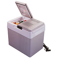 33 Qt Split Lid Kargo Kooler Thermoelectric Travel Cooler