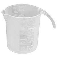 Plastic 16 oz Graduated Measuring Cup