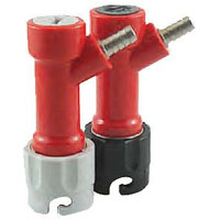 Pin Lock Becker Keg Home Brew Keg Tap - 1/4in. Barb