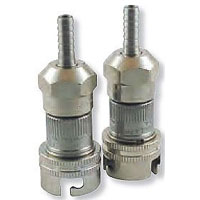 Stainless Steel Pin Lock Hansen Keg Home Brew Keg Tap - 1/4in. Barb - Straight