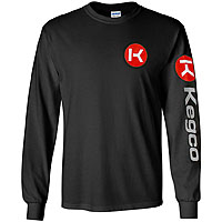 Long Sleeve T-Shirt - Black Large