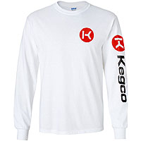 Long Sleeve T-Shirt - White Large