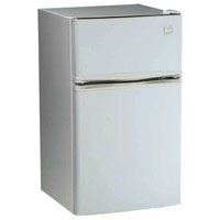 Avanti RA3106WT - 3.1 Cu. Ft. Two Door Counterhigh Refrigerator - White