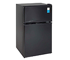 Avanti RA3116BT - 3.1 CF Two Door Counterhigh Refrigerator - Black
