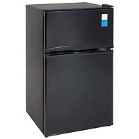 3.1 Cu. Ft. Two Door Counterhigh Refrigerator - Black