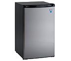 Avanti RM4436SS - 4.4 CF Counterhigh Refrigerator - Black with Stainless Steel Door