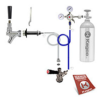 Standard Door Mount Kegerator Keg Tap Conversion Kit