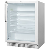 5.5 cf Glass Door All Refrigerator