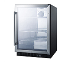 Summit SCR610BL 5.0 Cu. Ft.  Undercounter Beverage Center