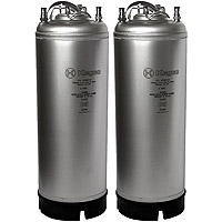 5 Gallon Ball Lock Keg - Strap Handle - NSF Approved - Set of 2