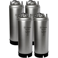 5 Gallon Ball Lock Keg - Strap Handle - NSF Approved - Set of 4