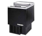 Beverage-Air SF34-B Shallow Well Bottle Cooler - Black Vinyl