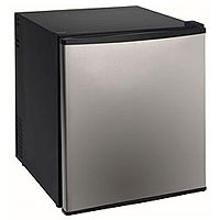 Avanti SHP1712SDC 1.7 Cu. Ft. Compact SUPERCONDUCTOR Refrigerator - Stainless Steel Door AC/DC