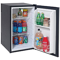 Avanti SHP2501B 2.5 Cu. Ft. Compact SUPERCONDUCTOR Refrigerator - Black