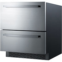 Summit SP7D2 Two-Drawer Refrigerator