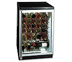 Summit SWC-6GBLSH 50 Bottle Wine Refrigerator - Full Stainless Pro-Style Handle