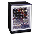Summit SWC-6GBLTB 50 Bottle Wine Refrigerator with Stainless Towel Bar Handle