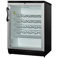 51-Bottle Wine Refrigerator - Black