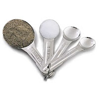 Stainless Steel Measuring Spoons (Set of 4)