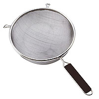 Stainless Steel Strainer - 10 1/4