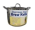 Polar Ware 16 Qt. Economy Stainless Steel Brew Kettle