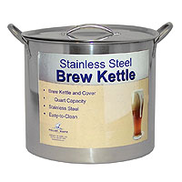 16 Qt. Economy Stainless Steel Brew Kettle