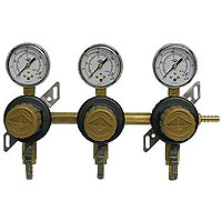 Three Product Secondary Co2 Regulator