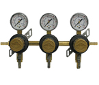 T1683STC-01 Three Product Secondary Co2 Regulator with Check Valve by Taprite