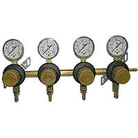 Four Product Secondary Co2 Regulator