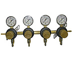 Four Product Secondary Co2 Regulator with Check Valves