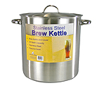 Polar Ware 30 Qt. Economy Stainless Steel Brew Kettle
