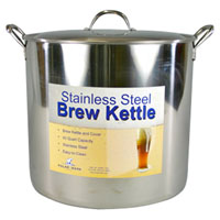 42 Qt. Economy Stainless Steel Brew Kettle