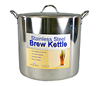 Polar Ware 42 Qt. Economy Stainless Steel Brew Kettle