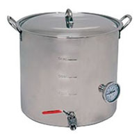 42 Qt. Super Economy Stainless Steel Brew Pot