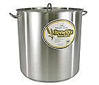 Polar Ware 100 Qt. BrewRite Stainless Steel Brew Kettle