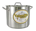 Polar Ware 32 Qt. BrewRite Stainless Steel Brew Kettle