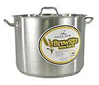 Polar Ware 40 Qt. BrewRite Stainless Steel Brew Kettle