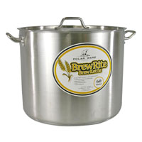 60 Qt. BrewRite Stainless Steel Brew Kettle