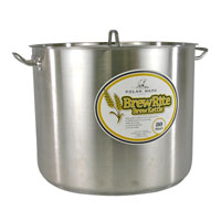 80 Qt. BrewRite Stainless Steel Brew Kettle