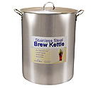 Polar Ware 60 Qt. Economy Stainless Steel Brew Kettle