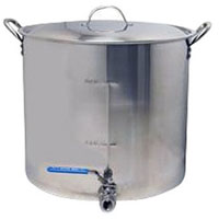 60 Qt. Economy Stainless Steel Brew Pot