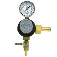 Single Gauge Primary Kegerator Beer Regulator