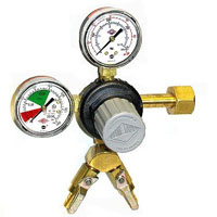 Commercial 2-Product Dual Gauge Primary Kegerator Regulator